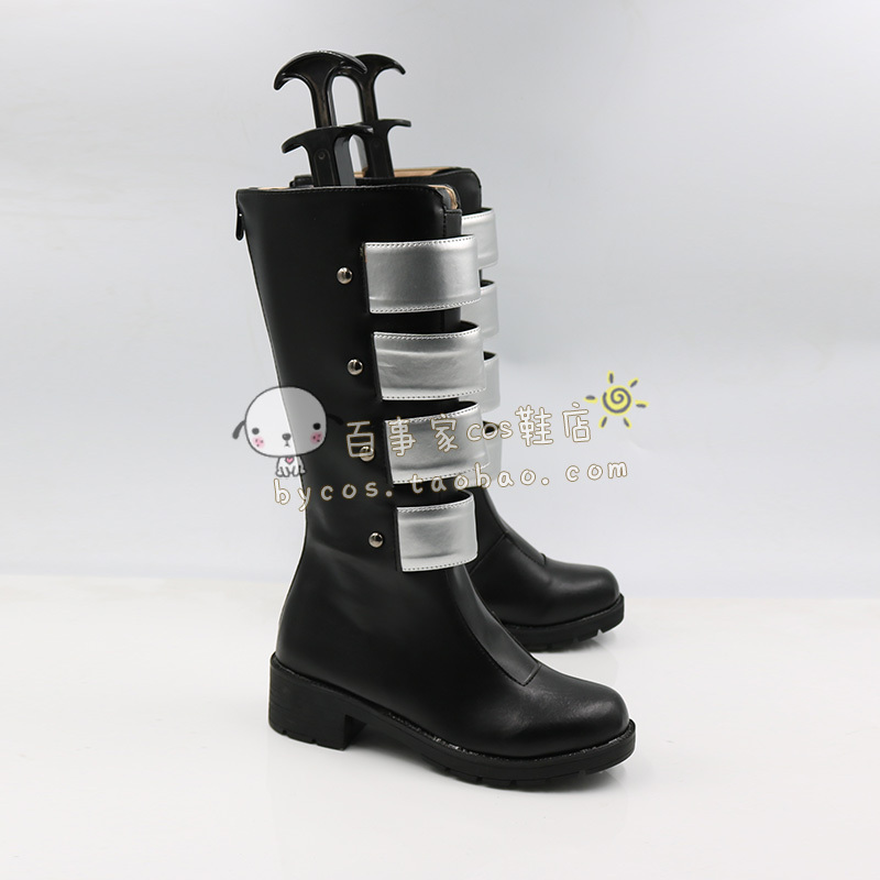 Batman Harley Quinn New 52 N52  hand made Cosplay Boots shoes shoe boot  #AT121