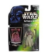 Star Wars Power of the Force Green Hologram Card Tusken Raider Action Fi... - $9.75