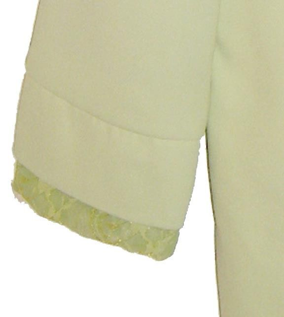 Spring Green Bling Mother-of-the-Bride or Church Suit by Lloyd Williams Size 18