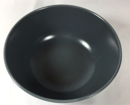 IKEA Of Sweden Smooth Slate Satin Dark Grey Soup Cereal Coupe Bowl