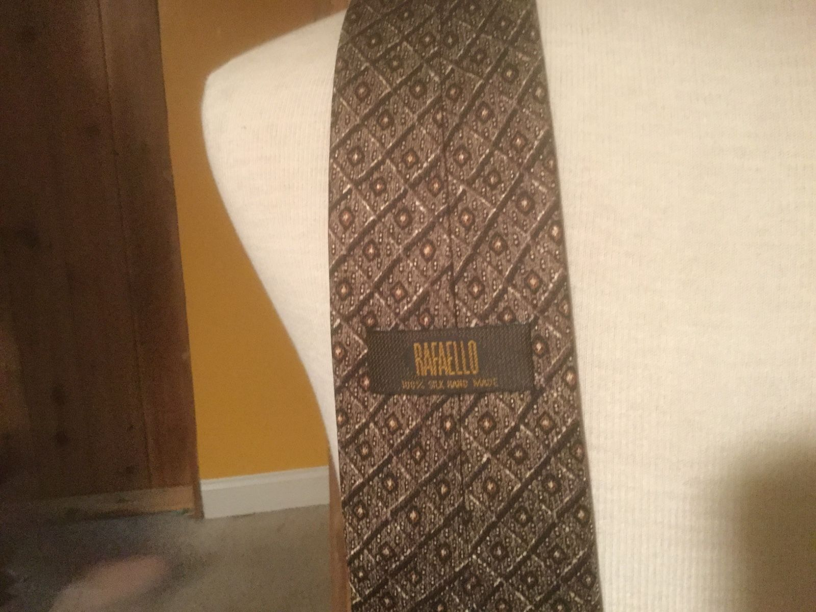 Rafaello 100 Percent Silk Hand Made Tie