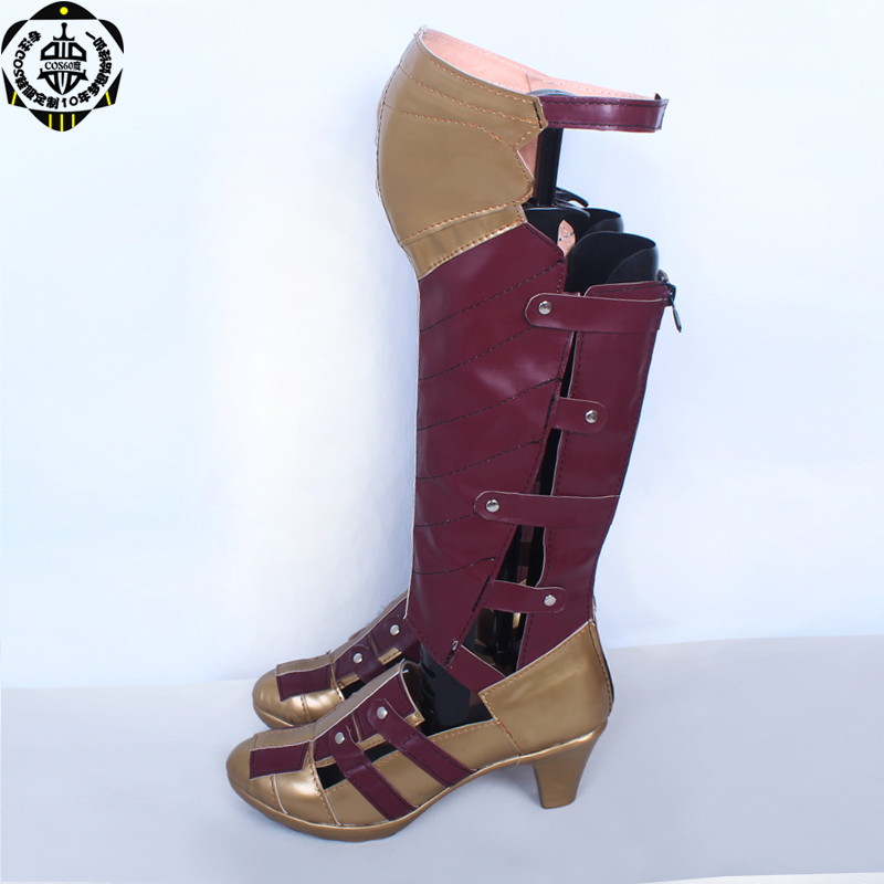 Batman v Superman Dawn of Justice Wonder Woman Diana Prince Cosplay Boots shoes