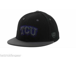 Texas Christian Horned Frogs TOW 86 Confidential Fitted NCAA Team Logo Cap Hat - $18.99