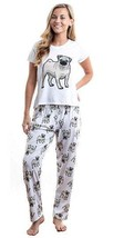 Dog Pug pajama set with pants for women - $35.00