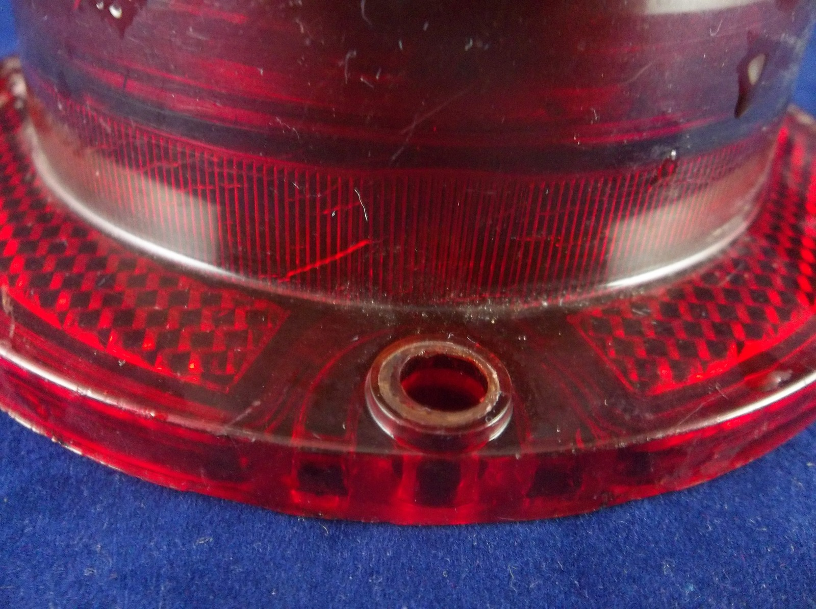1963 Chevrolet Impala Guidex Tail Light Lens Pair With Trim Rings OEM 5954186
