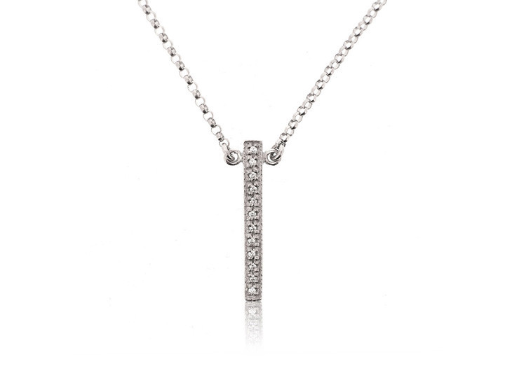 Sterling silver necklace48