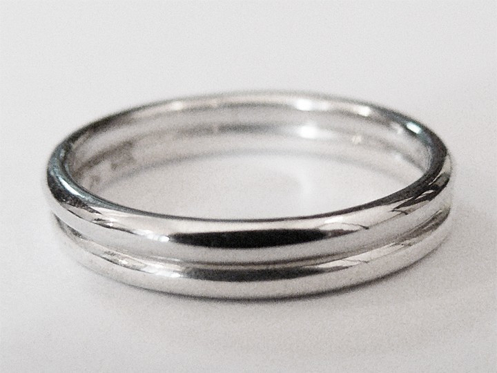 SOVATS 2 SKINNY STACK RINGS