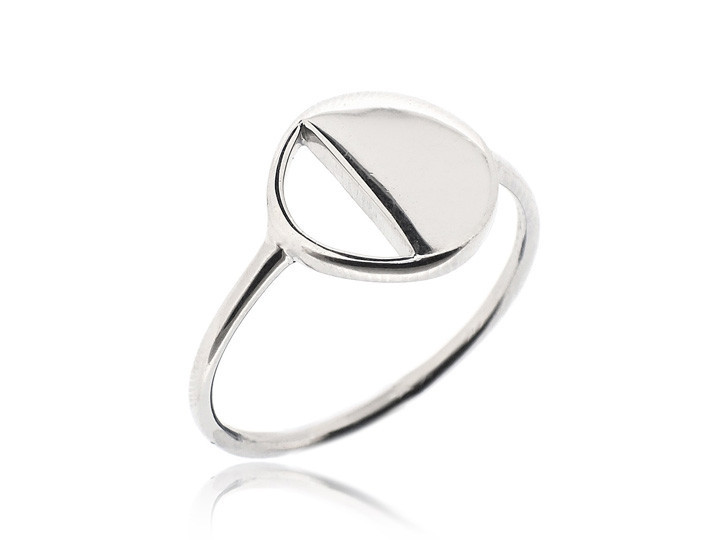 SOVATS HALF CIRCLE RING