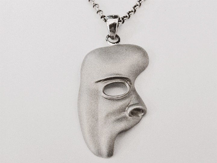 SOVATS PHANTOM OF THE OPERA MASK PENDANT FOR NECKLACE
