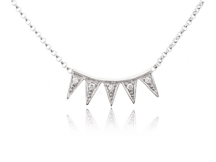 Sterling silver necklace45