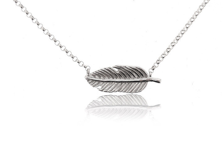 Sterling silver necklace40