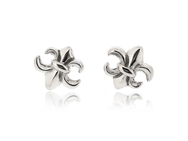 SOVATS FLEUR DE LIS EARRINGS