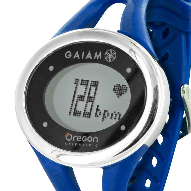 Oregon Scientific Navy Blue Gaiam ECG Heart Rate Monitor Touch Watch