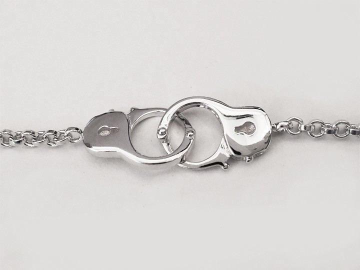 SOVATS HANDCUFF CHAIN BRACELET