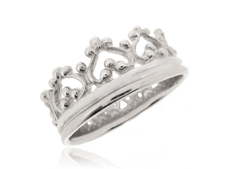 SOVATS CROWN WITH HEART RING
