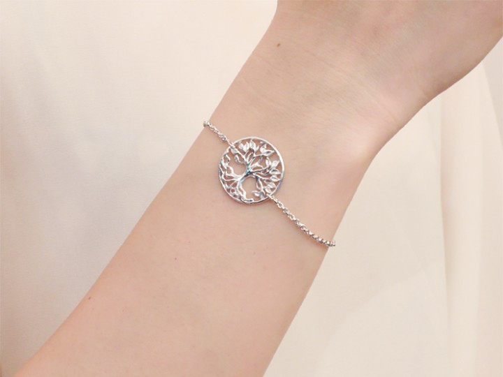 SOVATS TREE OF LIFE CHAIN BRACELET