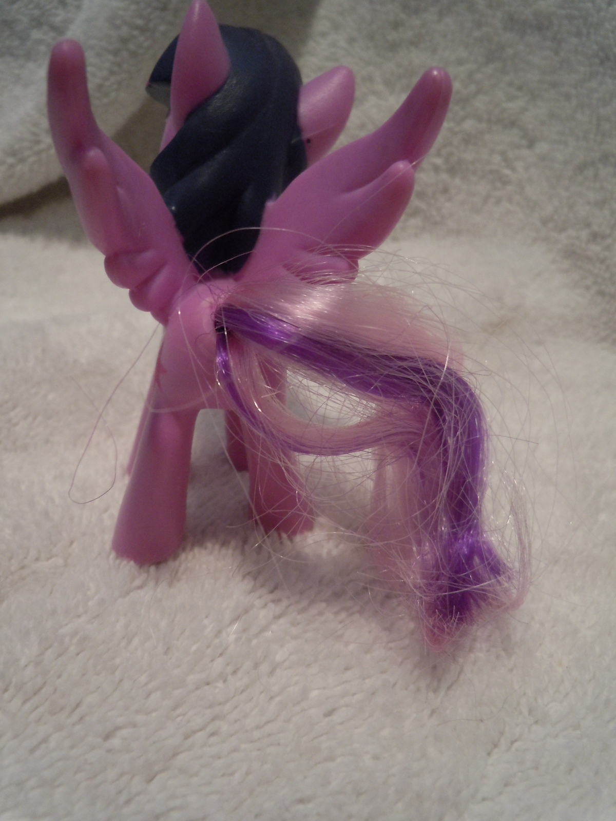 Lavender My Little Pony Unicorn Plastic Hasbro