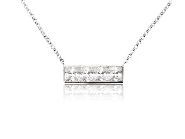 Sterling silver necklace30