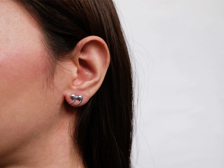 SOVATS QUOTATION MARKS EARRING