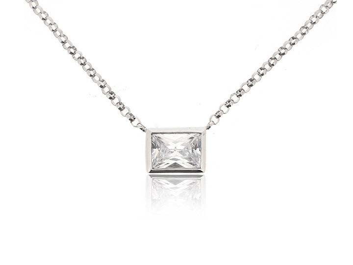 Sterling silver necklace46
