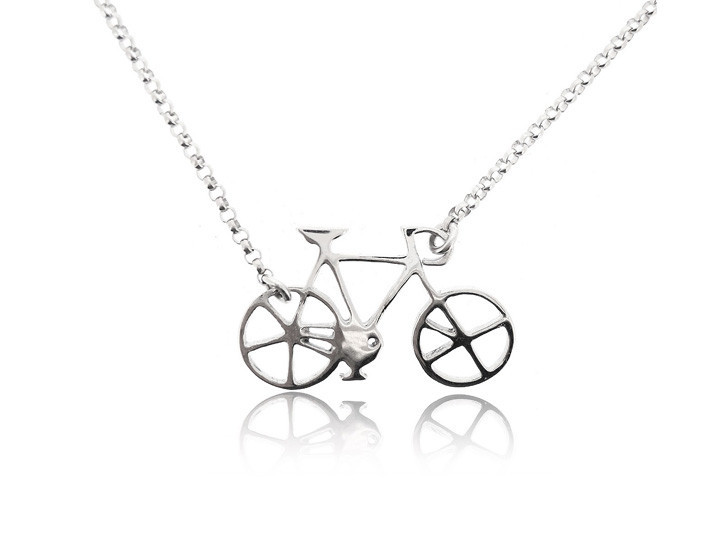 Sterling silver necklace25