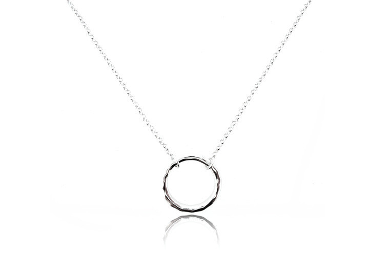 Sterling silver necklace10