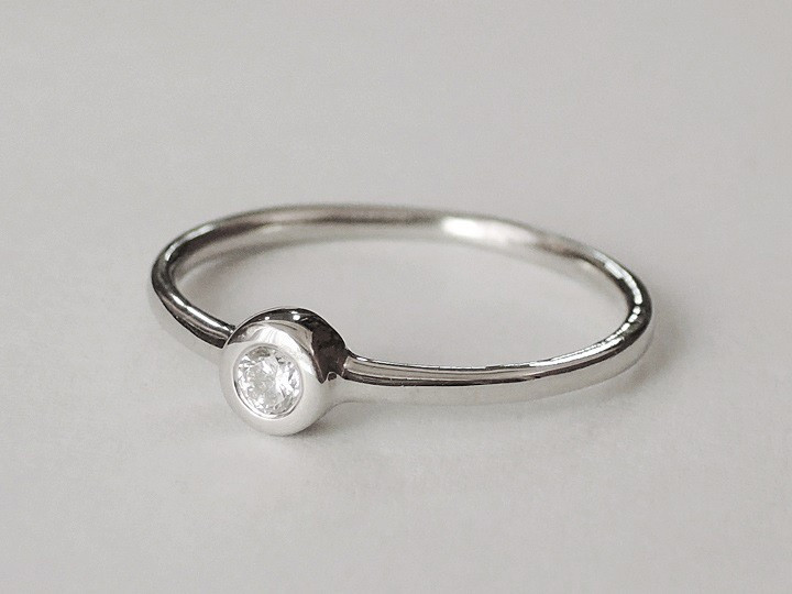 SOVATS CLASSIC SOLITAIRE ROUND RING