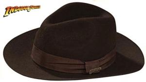 Indiana Jones - Fedora - Child - Officially Licensed Deluxe Wool Felt Hat Prop