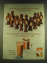 1966 Nestle Cocoa Mix Ad - An exciting new chocolate drink from Nestle - $14.99