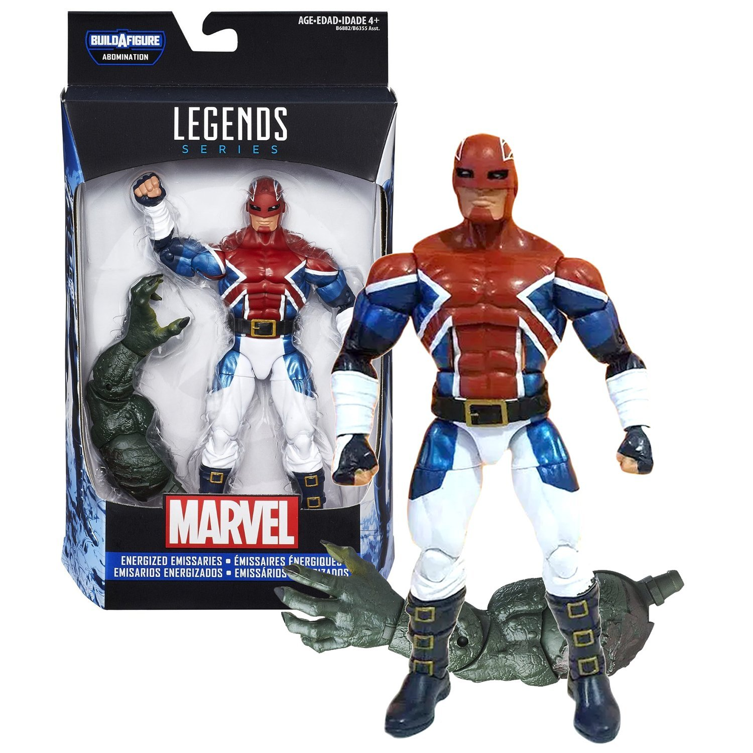 Hasbro Year 2015 Marvel Legends ABOMINATION Series 7 Inch Tall Figure - Energize