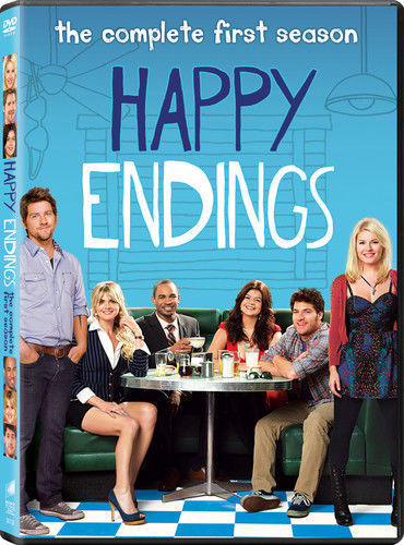 Happy Endings: The Complete First Season 1 (DVD Set) TV Series New