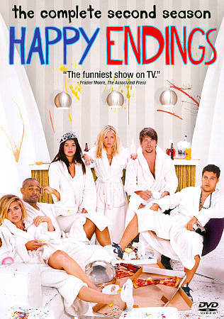 Happy Endings: The Complete Second Season 2 (DVD Set) TV Series New