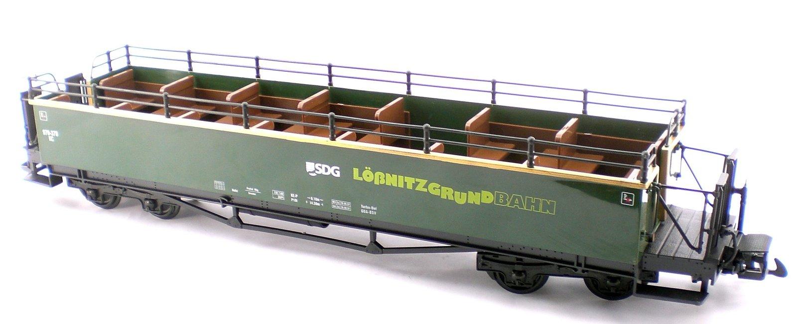Lobnitzgrundbahn Rail Ways Observation And Sight Seeing Passenger Train Car