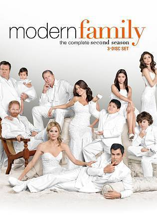 Modern Family: The Complete Second Season 2 (DVD Set) TV Series New
