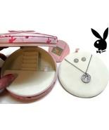 Playboy Jewelry Set Bunny Necklace Earrings Jewelry Box Swarovski Crysta... - $34.69