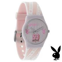 Pink Playboy Watch Bunny Logo VARSITY VIXEN Teens College Girls Women RA... - $14.69