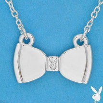 Playboy Necklace Bunny Bow Tie Pendant Charm White Trash Charm WTC WTC4P... - $14.69