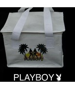 Playboy Lunch Bag Beach Bunny Tote Box Insulated Cooler Licensed Officia... - $12.69