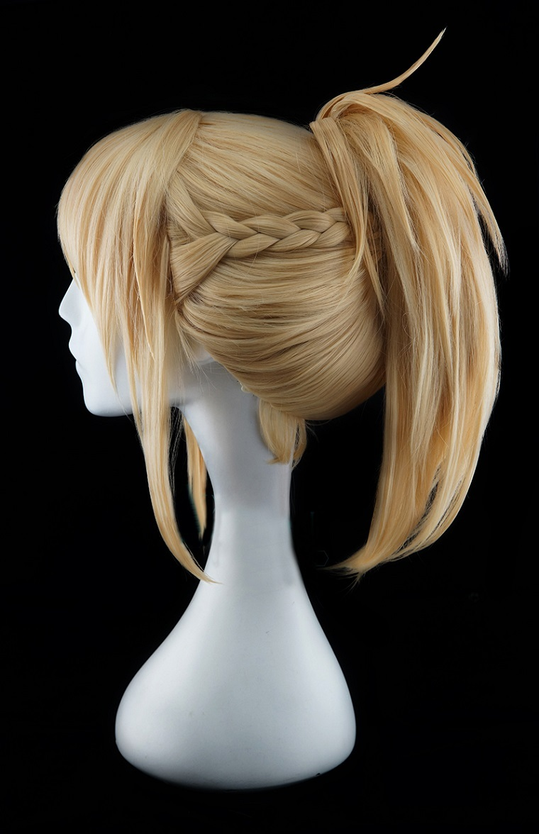 Fate/Grand Order Saber of Red Mordred Cosplay Wig Buy