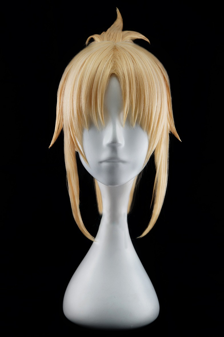 Fate grand order saber of red mordred cosplay wig buy