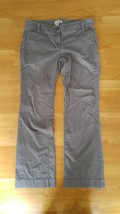 Women's Ann Taylor Loft Marisa Pants Gray Size: 4 - $23.36