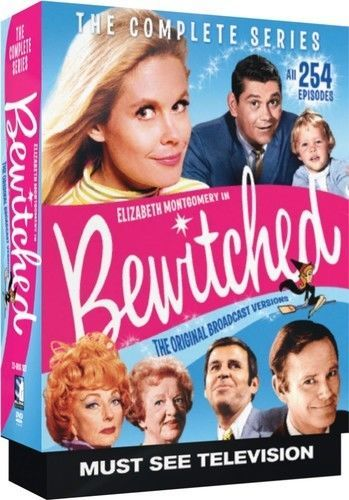 Bewitched: The Complete Series (DVD Box Set) Classic TV Comedy Show New