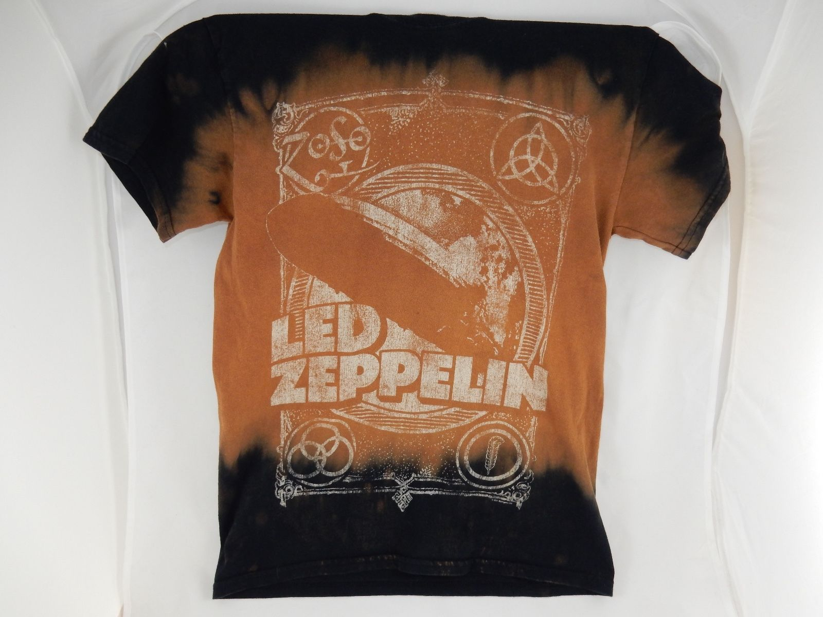 Led Zeppelin Zoso Small Tie Dye T Shirt And 30 Similar Items