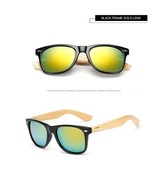 Bamboo Foot Sunglasses Men Wooden Sunglasses Women Brand Designer, Gold ... - $24.99