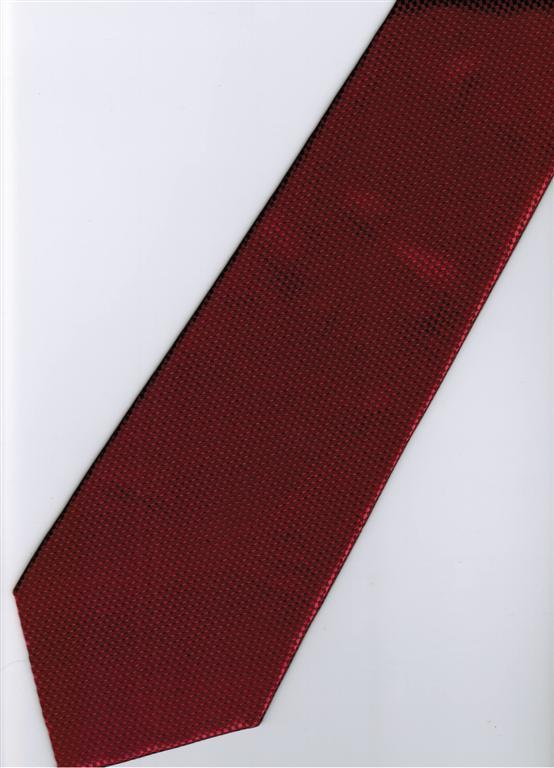 Maroon Blinking Solid Men Formal Fashion Neck Tie