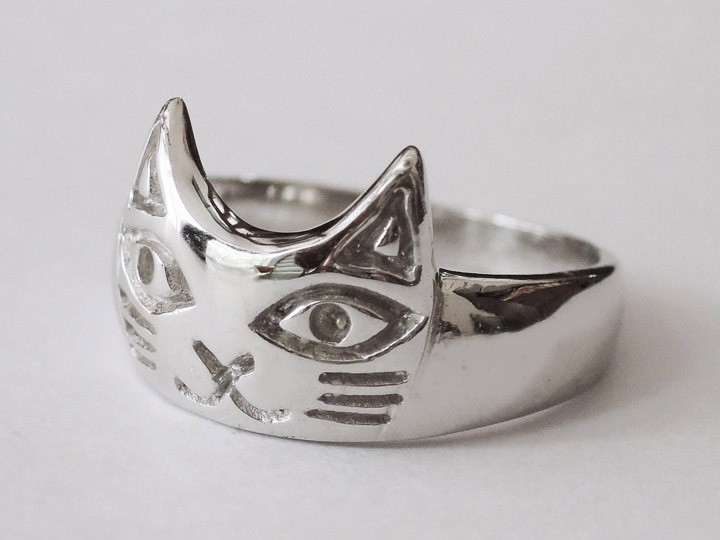 SOVATS CUTE CAT RING