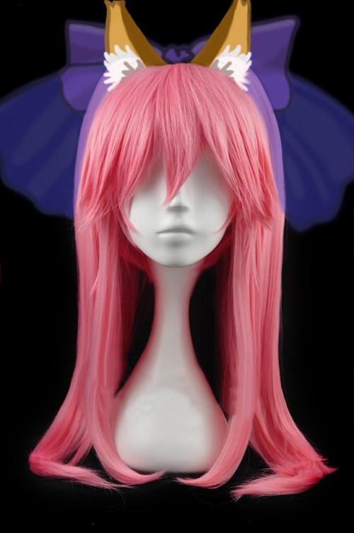 Fate extra caster tamamo no mae cosplay wig buy