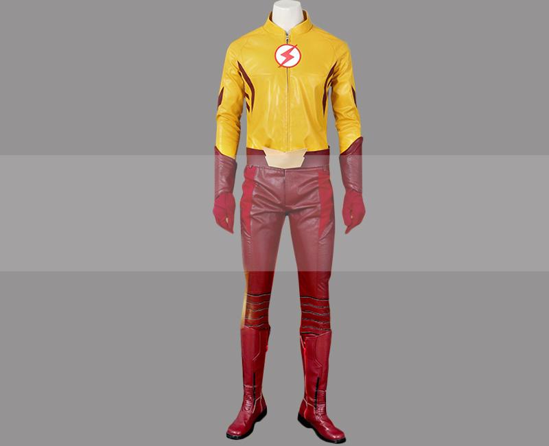 Cw the flash season 3 wally west kid flash cosplay