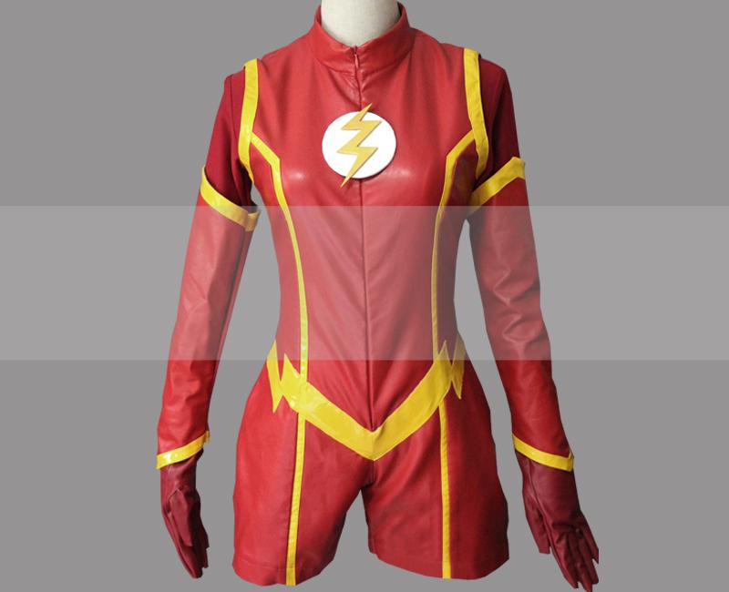 Dc the flash genderbend cosplay costume buy