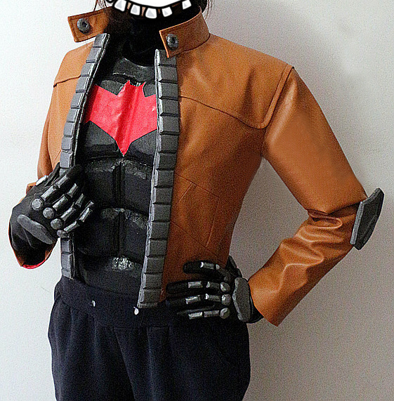 Batman Jason Todd Red Hood Cosplay Costume for Sale